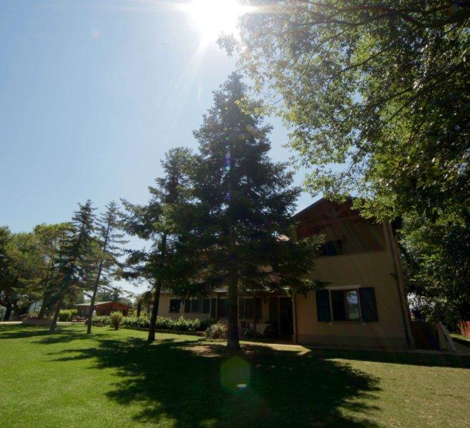 Agriturismo Le Quiete Dimore Pesaro e Urbino - giardino esterno