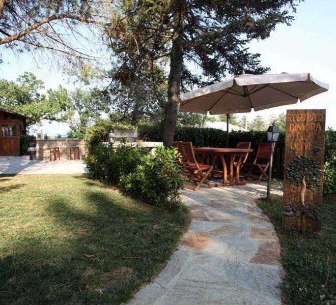Agriturismo Le Quiete Dimore - Pesaro e Urbino - giardino esterno