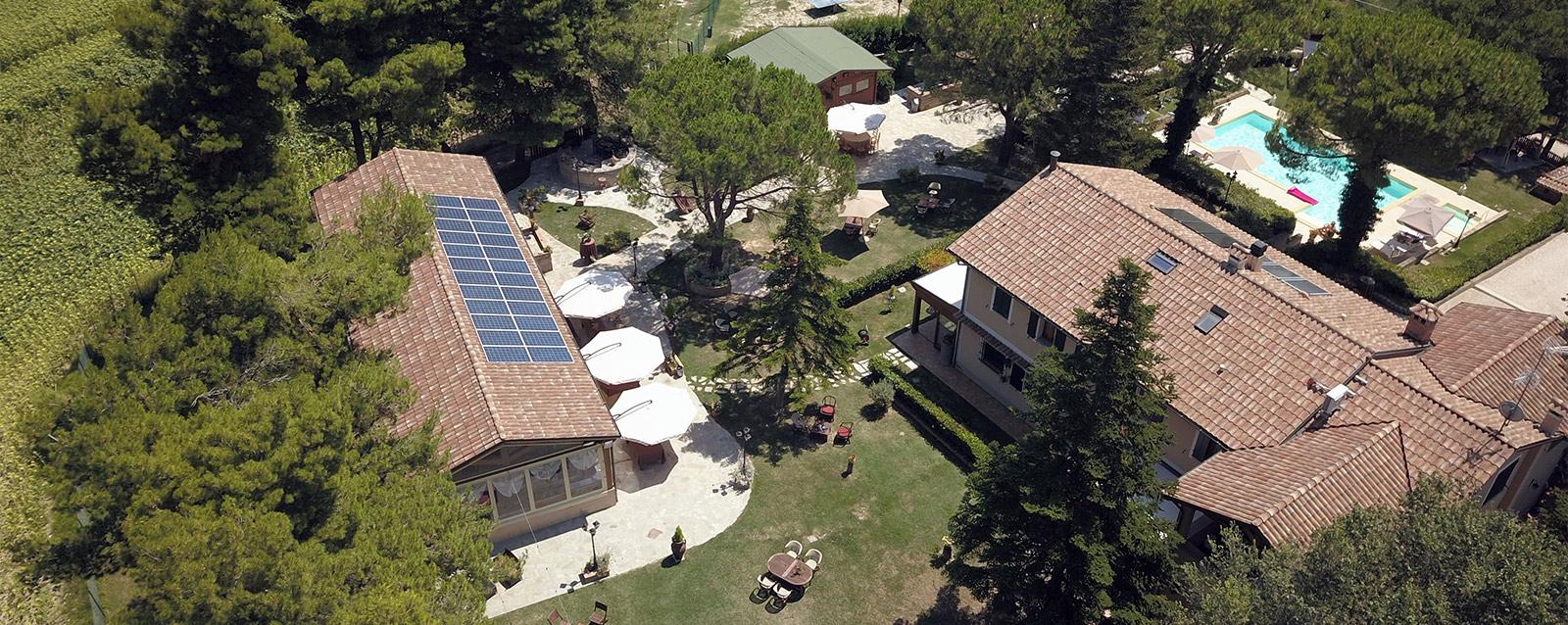 Agriturismo Le Quiete Dimore - Pesaro e Urbino - il giardino